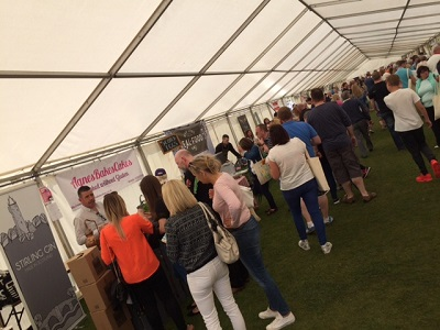 Largs food and drink marquee