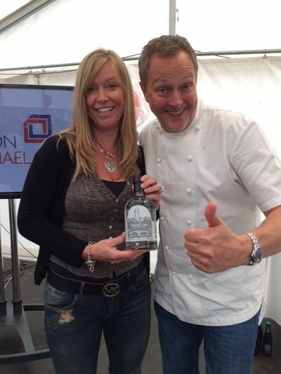 nick nairn with stirling gin