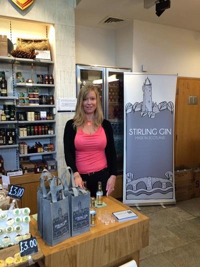 Stirling Gin at Stirling Castle